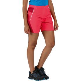 Regatta Sungari II Short Femme, neon pink/dark cerise